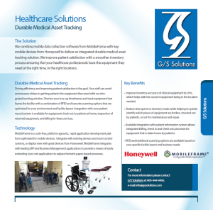 Durable Medical Asset Tracking Overview
